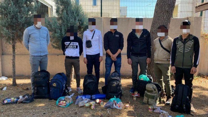 Kaçak 7 göçmen aynı araçta yakalandı