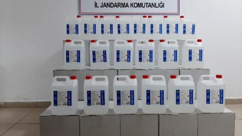 700 litre sahte etil alkol ele geçirildi