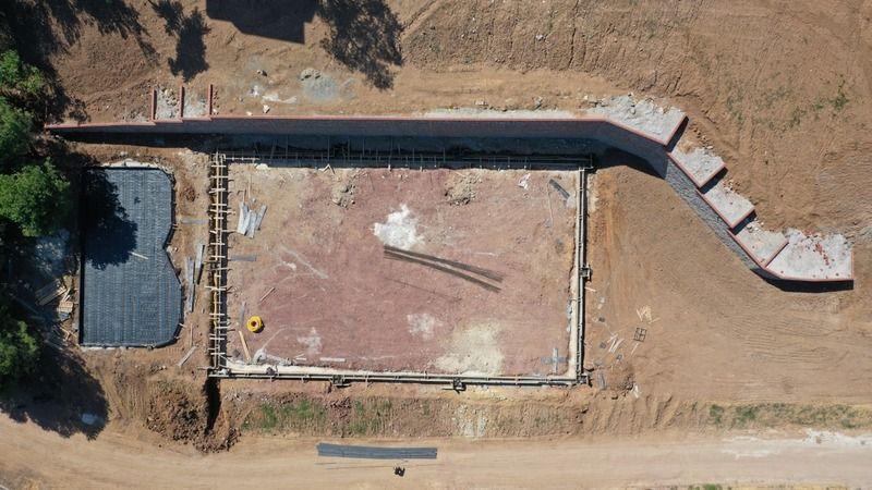 Cımbızdere mesire alanında çalışmalar sürüyor