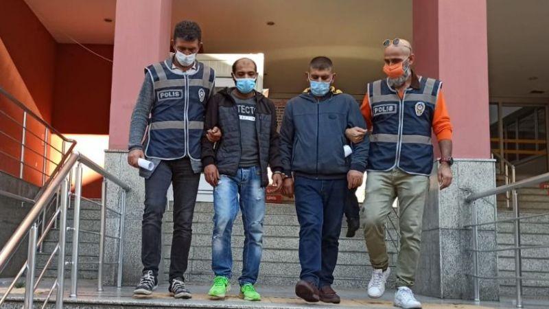 Hırsızlık yapan 2 şahıs tutuklandı
