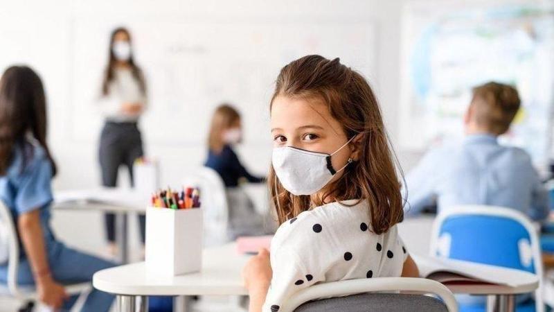 12 yaş altı öğrenciler için maske açıklaması