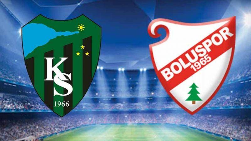 Kocaelispor - Boluspor maçı