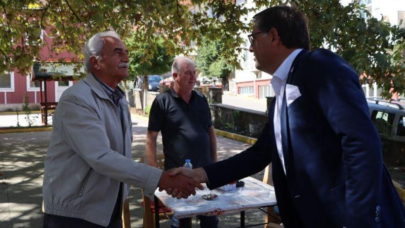 Taş ocağını istemeyen Kızderbentlilere CHP Kocaeli'den destek