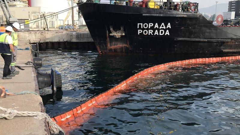 İzmit Körfezi'ni kirleten gemiye 1 milyon 286 bin ceza!