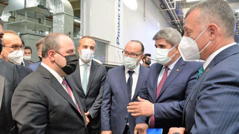 Başkan Bulut'tan, Bakan Varank'a dosya: İlimize Model Fabrika kazandırmak istiyoruz