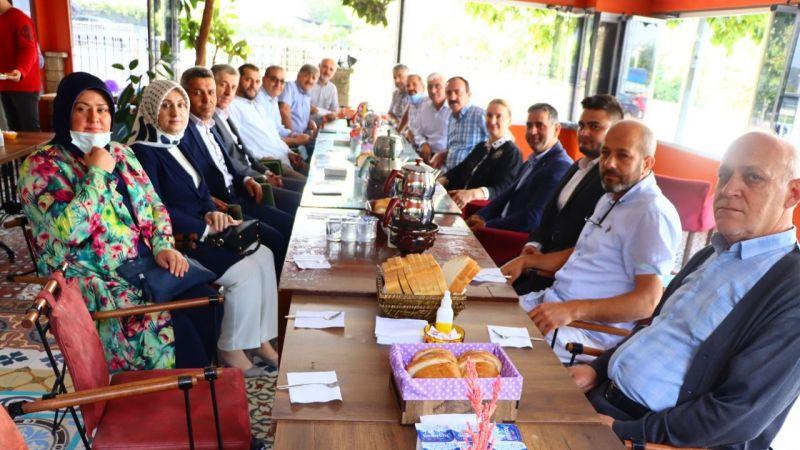 Emine Zeybek'ten Kandıra ziyareti