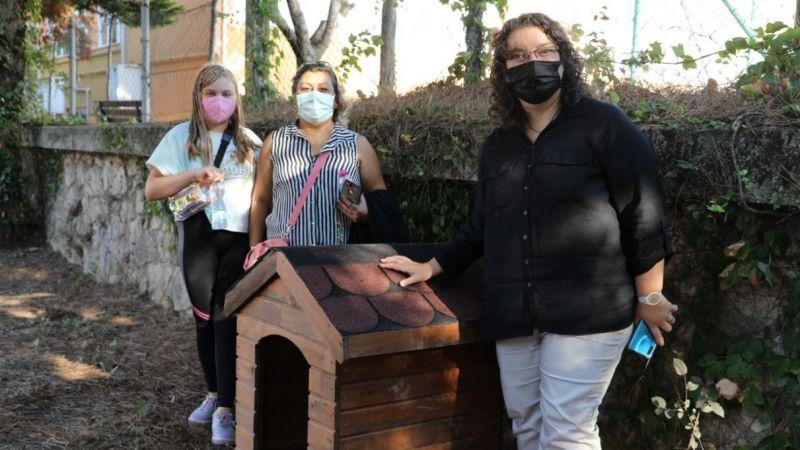 İzmit Belediyesinden köpek kulübesi desteği