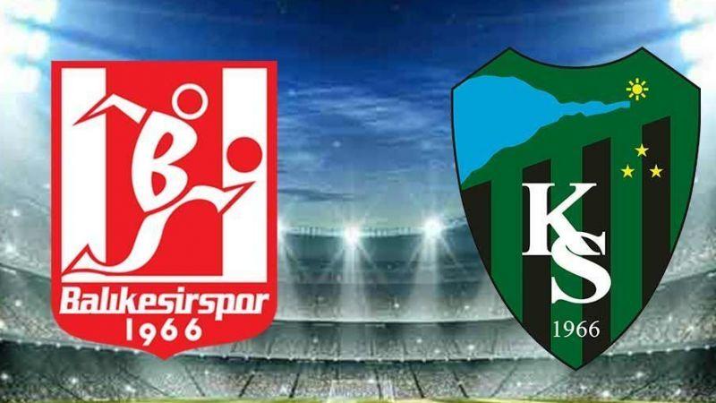 Kocaelispor - Balıkesirspor maç sonucu: 3-1