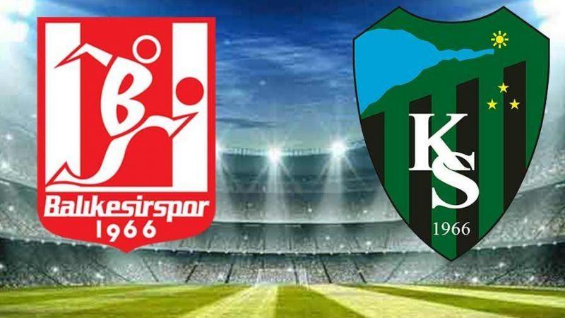 Kocaelispor - Balıkesirspor maçı
