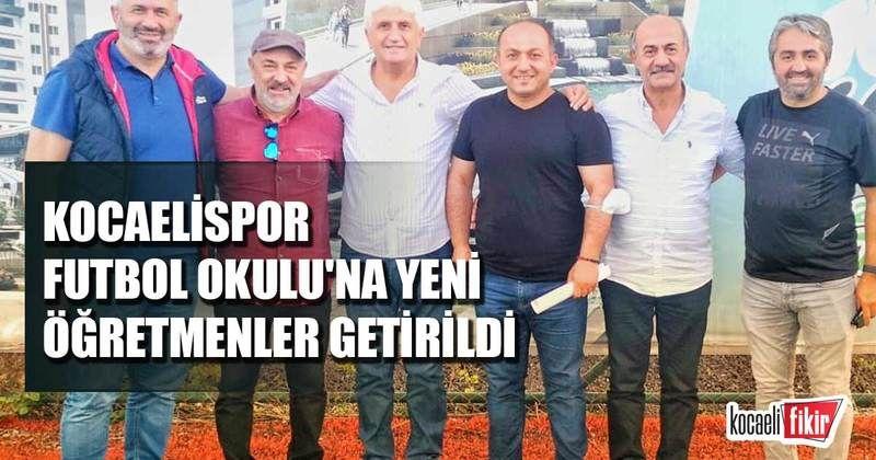 Kocaelispor Futbol Okulu'na yeni öğretmenler getirildi