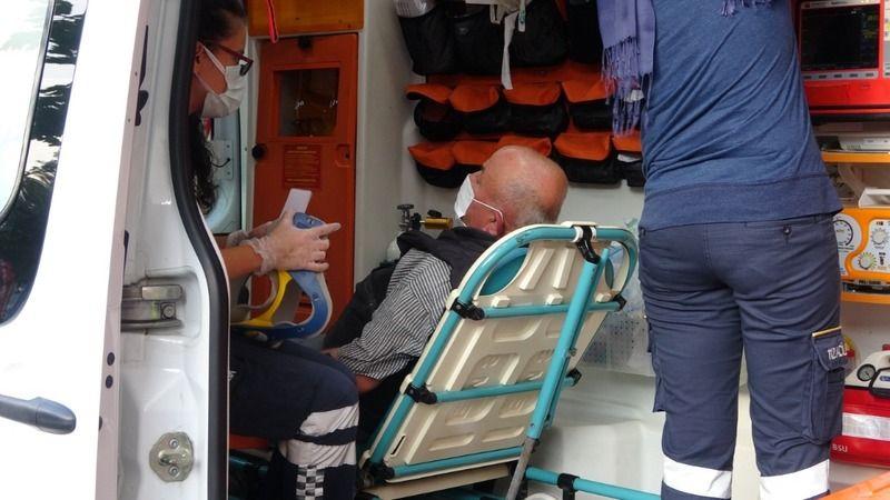 İzmit'te feci kaza! Motosiklet ile kamyonet çarpıştı