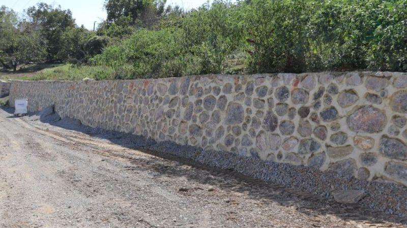 Akmeşe Cumhuriyet'eistinat duvarı yapıldı
