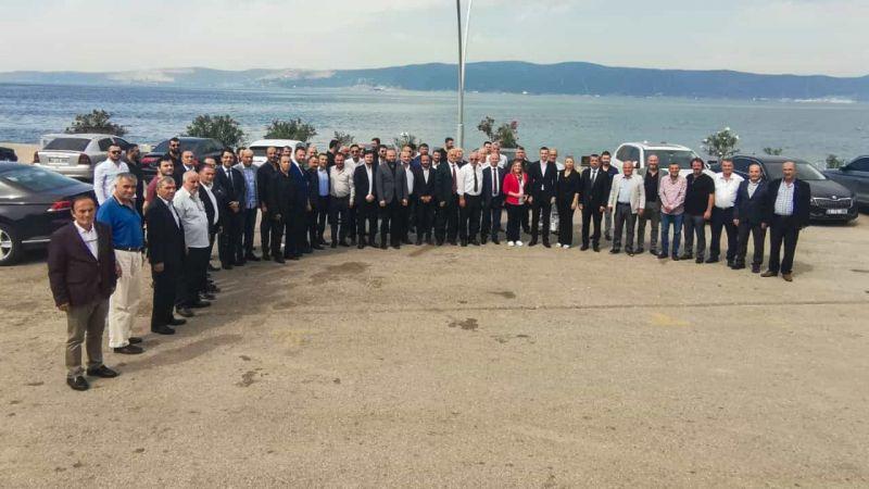 Yunus Emre Kurt MHP teşkilatı ile bir araya geldi