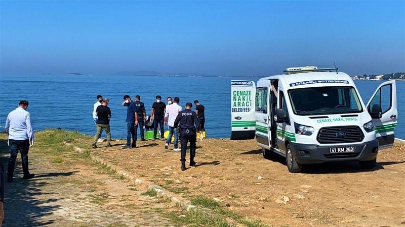 10 gündür denizde olan ceset Darıca'da kıyıya vurdu
