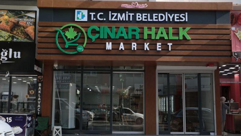 Uygun fiyatlı Çınar Halk Market açılıyor
