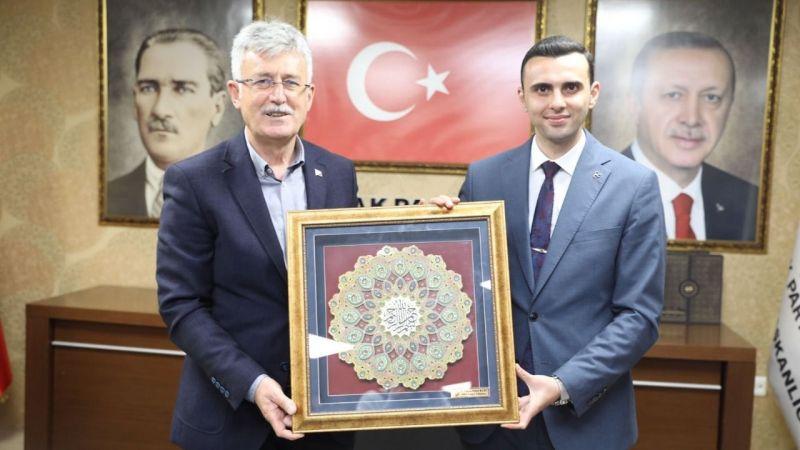 MHP İl Başkanı Kurt'tan Ellibeş'e iade-i ziyaret