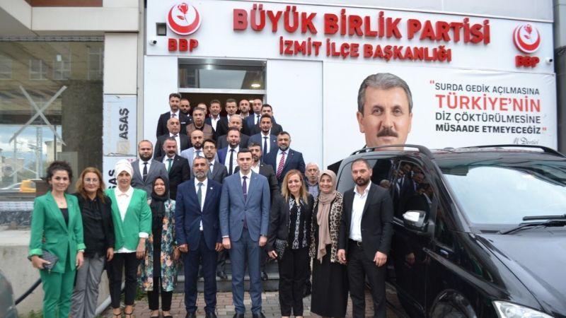 MHP İl Başkanı Kurt'tan Büyük Birlik Partisine İade-i Ziyaret