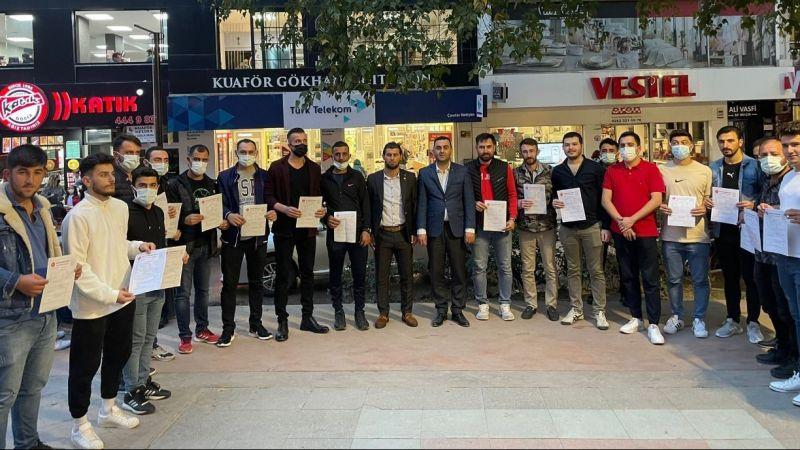 MHP İzmit'e 20 yeni üye