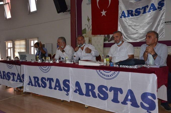 ARSTAŞ Kooperatifte pandemi nedeniyle ertelenen kongre yapıldı