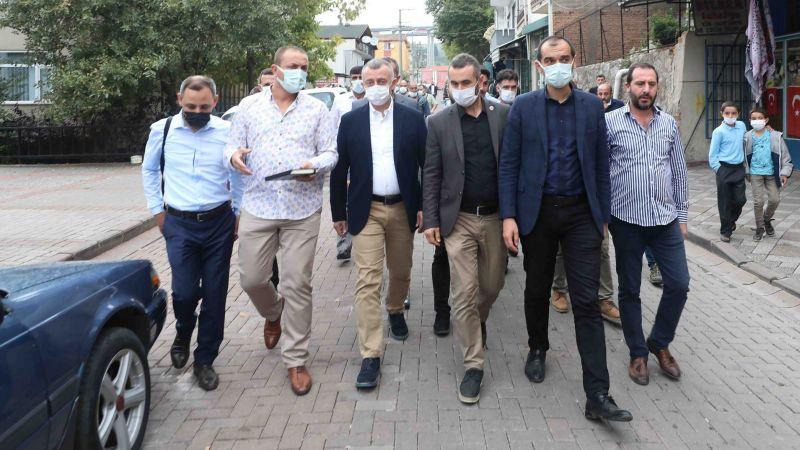 Büyükakın: Yenidoğan ve Serdar'da çok önemli çalışmaları hayata geçireceğiz