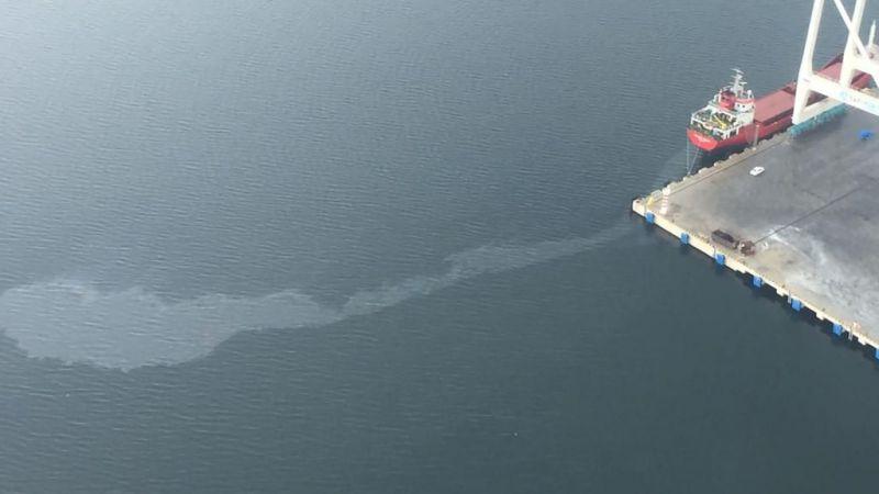 Körfez'i kirleten gemiye 1 milyon 197 bin TL ceza