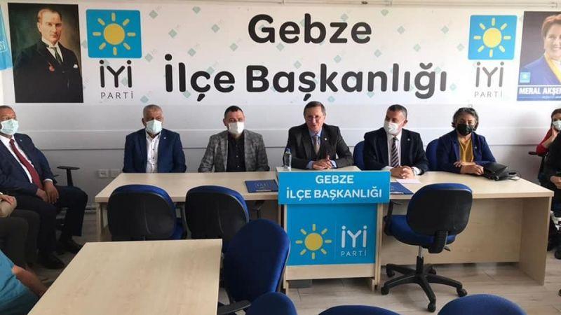İYİ Partili  Türkkan'dan Gebze ziyareti