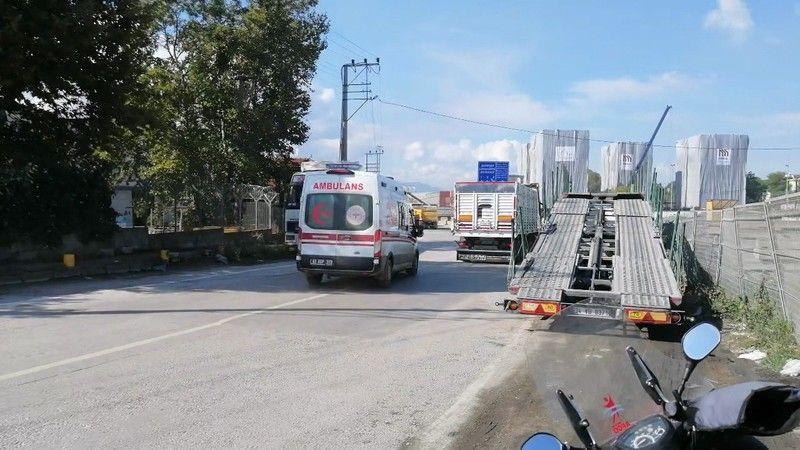 Römorkör sürücüsü limanda merdivenden düşerek yaralandı