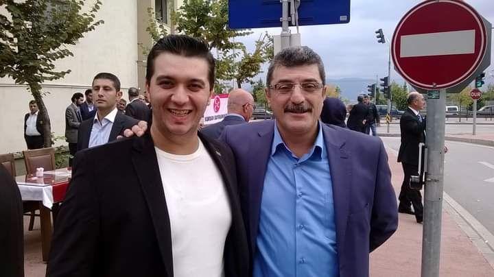 Babası İYİ Partili oğlu MHP'ye üye oldu