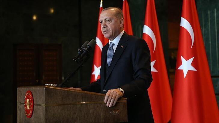 Cumhurbaşkanı Erdoğan: Parkta yatanların bir kısmı öğrenci değil
