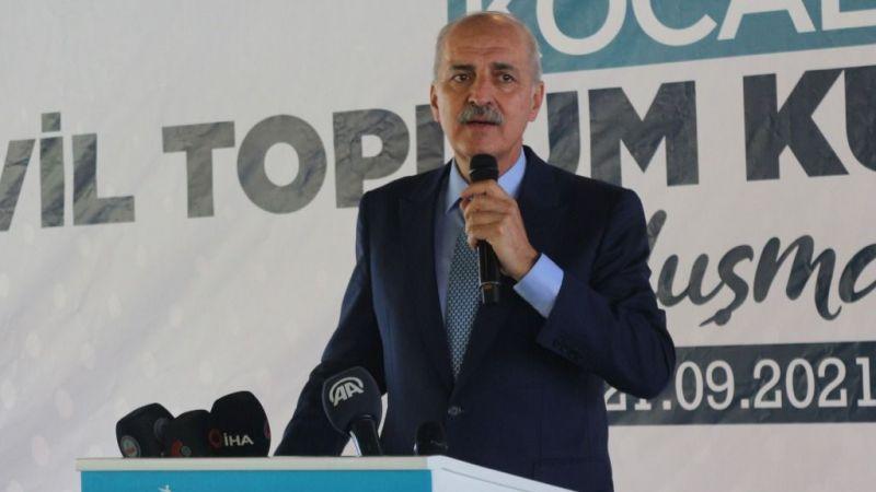 Numan Kurtulmuş: Hedefimiz yeniden büyük güçlü Türkiye'yi kurmak