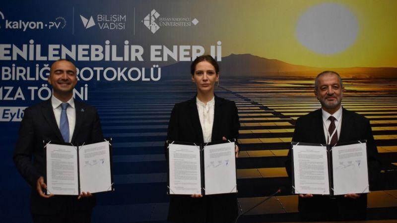 Bilişim Vadisi'ne toplamda 2 bin 619 güneş paneli teslim edilecek