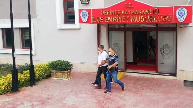 Derince'de hırsızlık yapan şahıs kıskıvrak yakalandı
