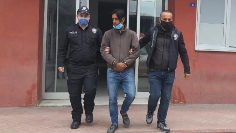 Hırsızlık yapan şahıs tutuklandı!