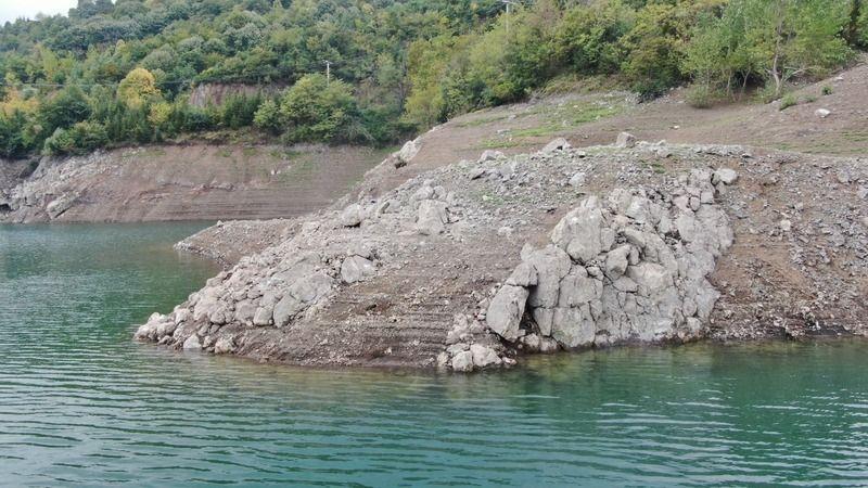 Barajdaki su oranı yarıya kadar düştü