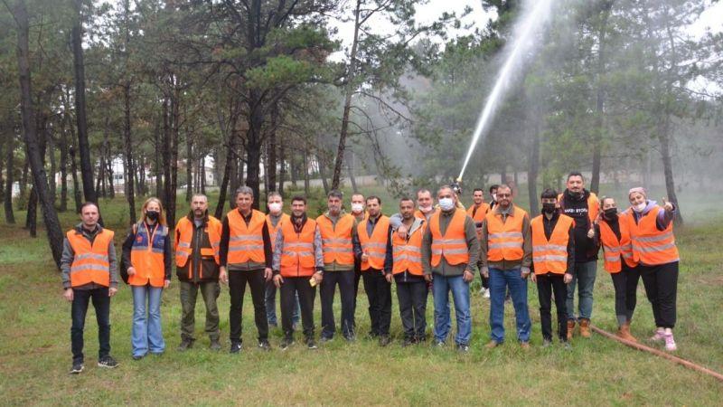 Gönüllülerden oluşan ekip orman yangınlarına müdahale edecek