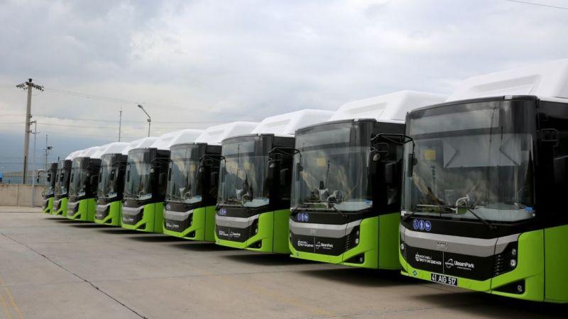Büyükşehir'den 90 yeni otobüs için ihale