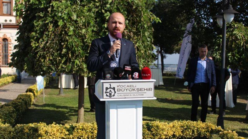 Bilal Erdoğan'dan Büyükakın'a 'Ensar Vakfı' teşekkürü
