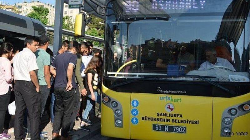 Şanlıurfa'da toplu taşıma ücretlerine zam geldi!