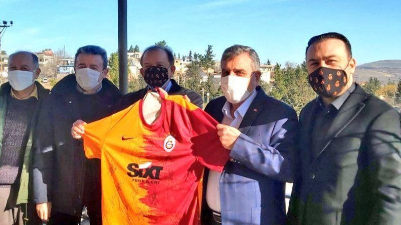Galatasaraylı yöneticiler Urfa'ya geldi
