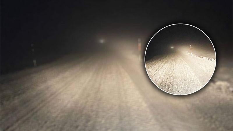 Urfa'da soğuk hava etkili oluyor: İlçede kar yağdı