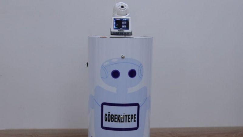 Robot 'Göbeklitepe' sağlık  çalışanlarına yardım edecek!