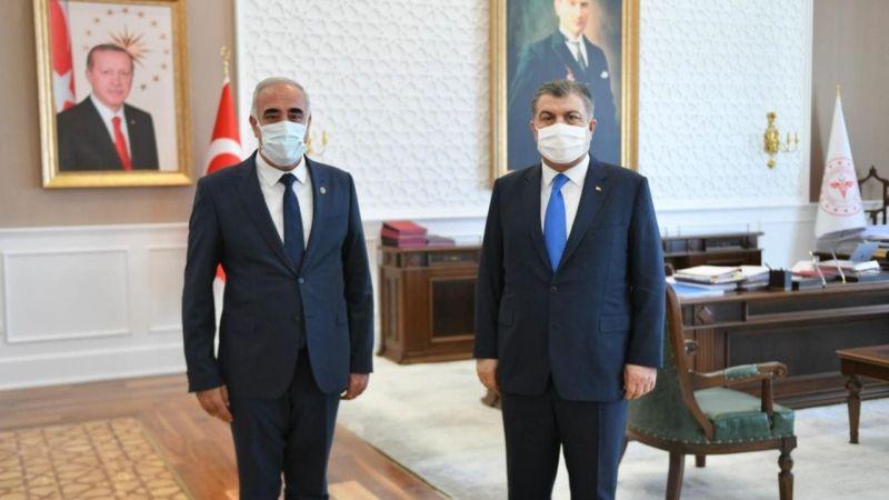 Urfalı Vekil Aydınlık, Bakan Koca'ya Şehir Hastanesini sordu