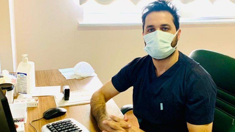 Urfa'daki hastanede yeni doktor göreve başladı!
