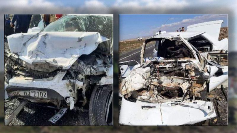 Urfa'da feci kaza: Çok sayıda yaralı var!