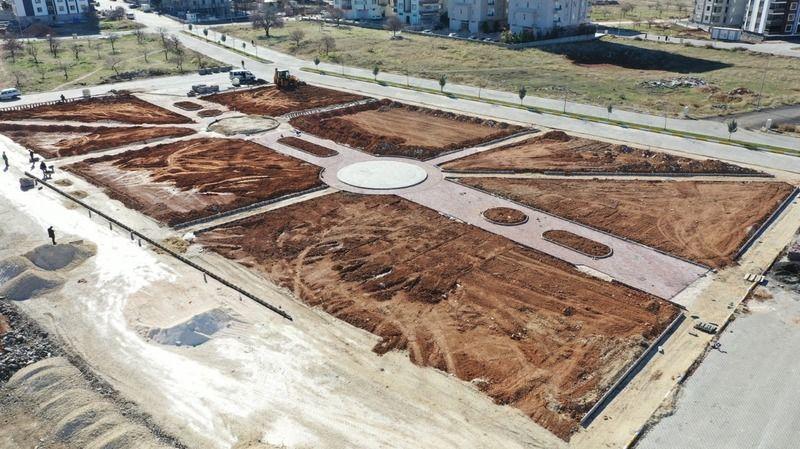 Karaköprü'deki park hizmete açılıyor!