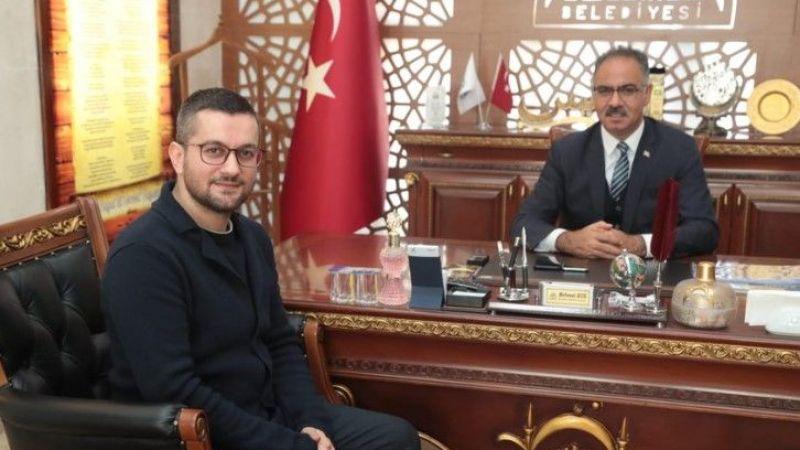 MSYD Başkanı Urfa'da! Eyyübiye'deki çalışmalar için görüşme yapıldı