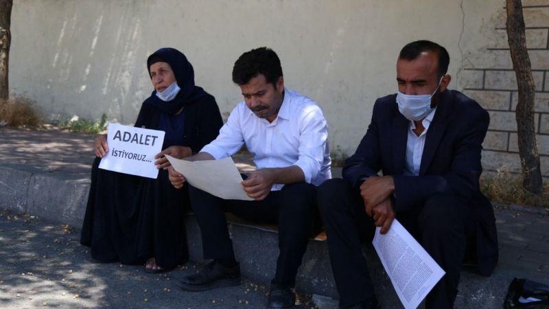 Demir'den aileye destek: Urfa Adliyesi önünde eylem sürüyor!