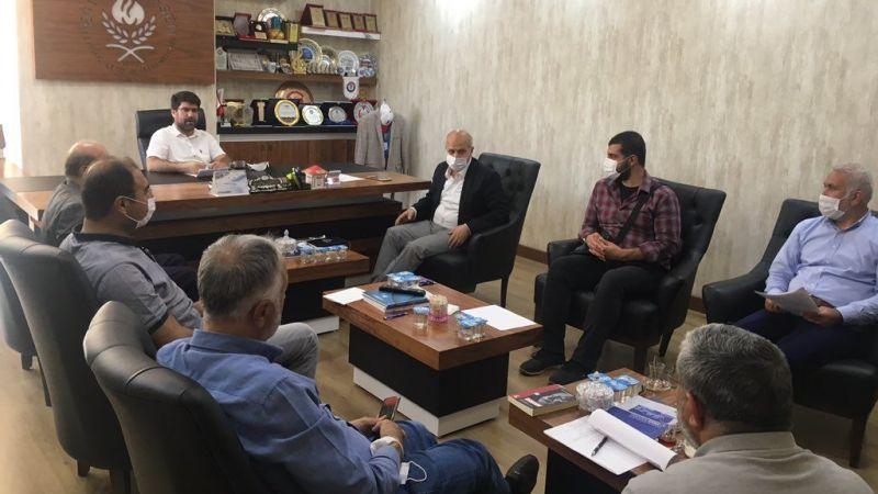 Urfa'daki STK'lar Filistin için bir araya geldi