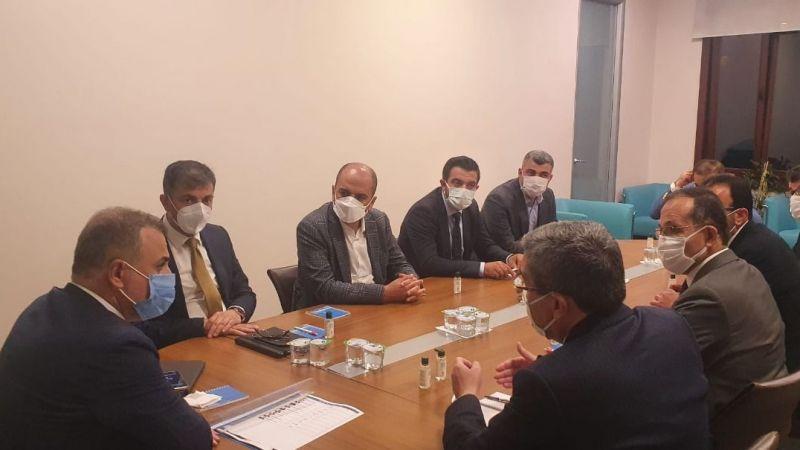 Kırıkçı, Bölge İl Başkanları Toplantısına katıldı