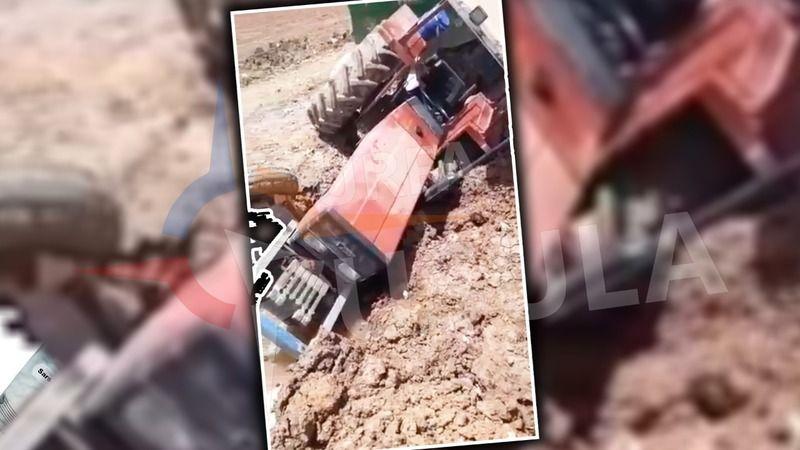 Yine traktör kazası: Bu kez ucuz atlatıldı!